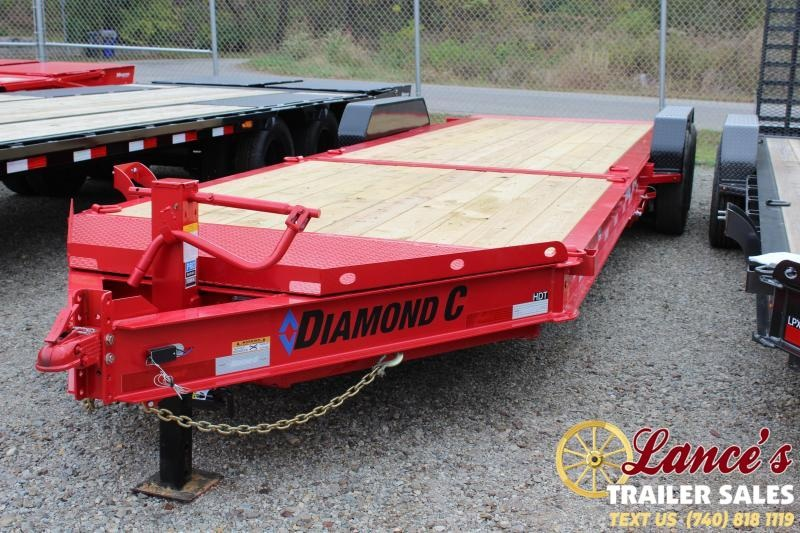 2020 Diamond C Trailers 24Ft. Equipment Trailer