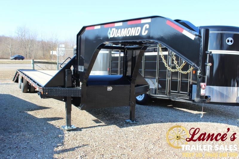 "2020 Diamond C Trailers 102""x32'  Equipment Trailer"