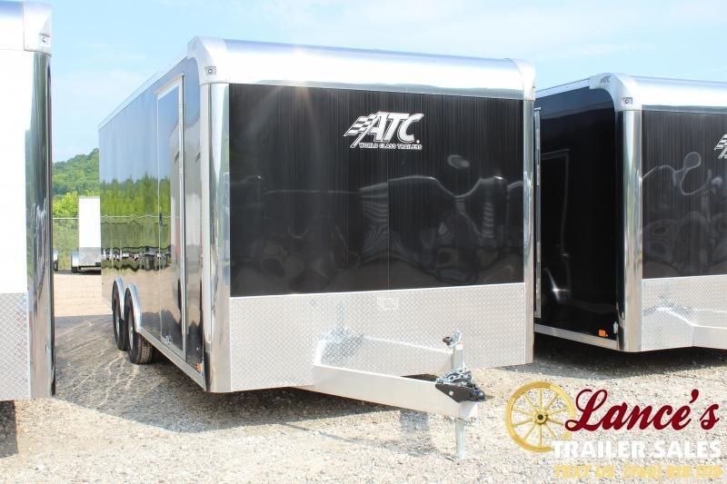 "2019 ATC 8'5""x20' Enclosed Car Hauler"