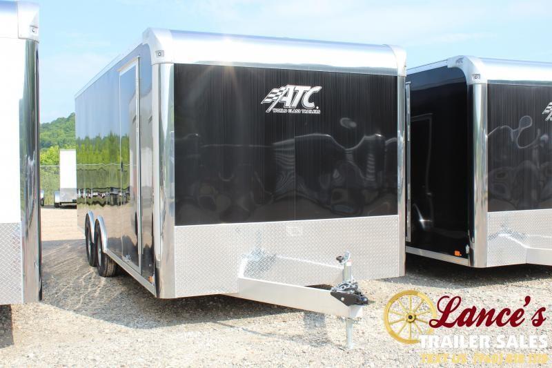 """2019 ATC 8'6""""x20' Enclosed Car Hauler"""