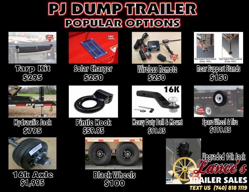 """2020 PJ 84"""" x 16Ft. Dump Trailer"""