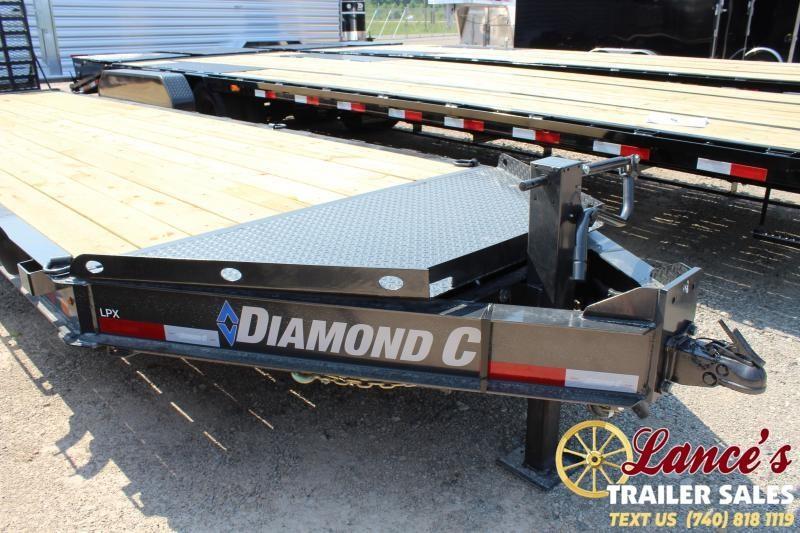 "2019 Diamond C 82"" x 24 Ft. Equipment Trailer"