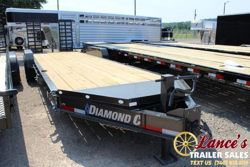 "2019 Diamond C 82"" x 24 Ft. Equipment Trailer"