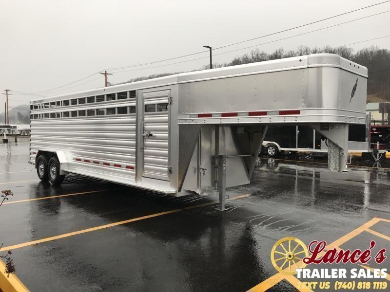 2020 Featherlite Model 8127 24' Livestock Trailer