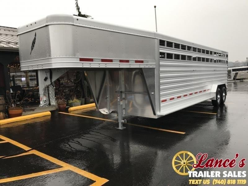 2020 Featherlite Model 8127 24' Livestock Trailer