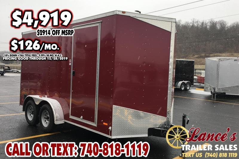 *DEMO* 2019 RC Trailers 7Ft. x 14Ft. Enclosed Cargo Trailer