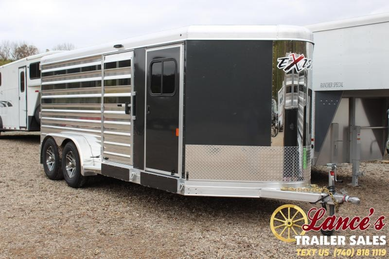 2020 EXISS 16Ft. Bumper pull LIVESTOCK TRAILER