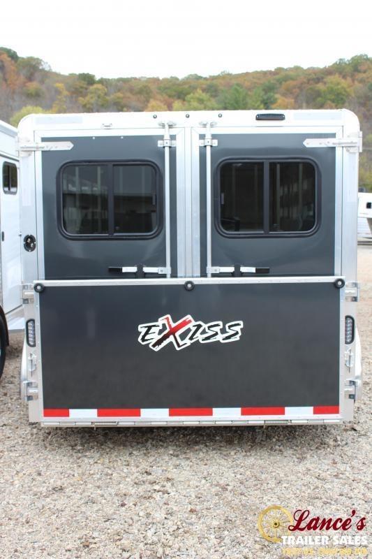 2020 EXISS 16Ft. Bumper pull LIVESTOCK TRAILER