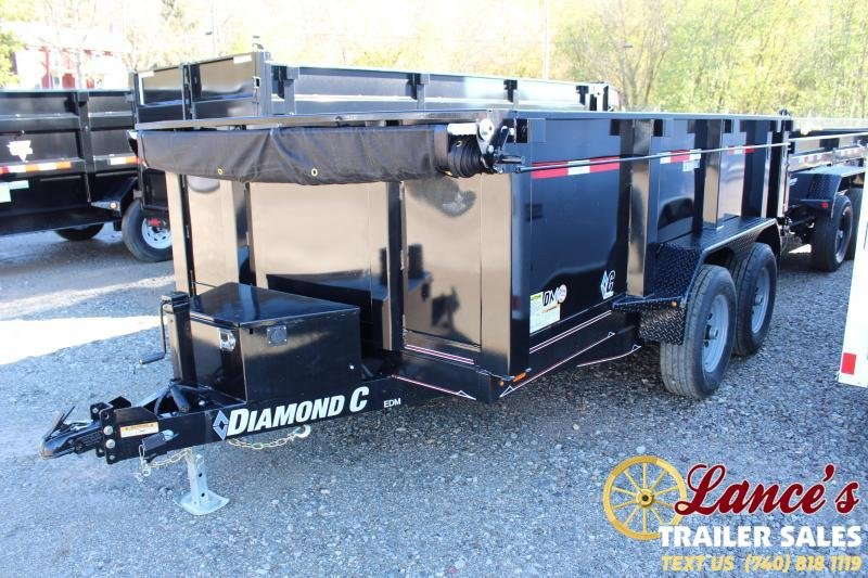 2020 Diamond C 77x12 Dump Trailer