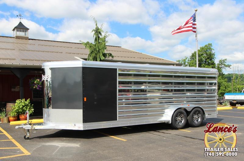 2019 Exiss Exhibitor 20' Low Pro Show Bumper Trailer w/Air Gaps