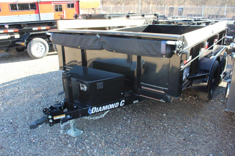 2019 Diamond C 77x10 Deluxe Dump Trailer