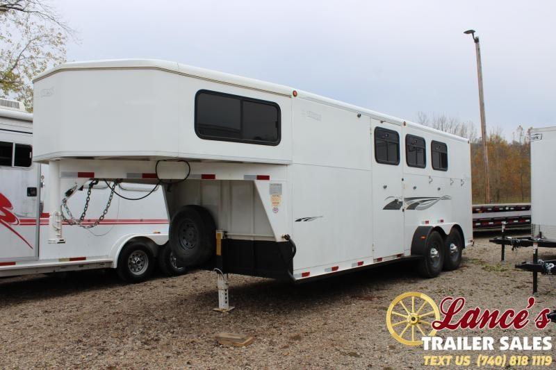 2004 Titan 3 HORSE SLANT LOAD Gooseneck Horse Trailer