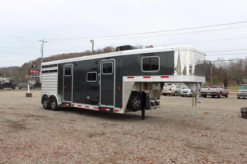 2020 Exiss Express CXF 2 Horse w/ 11' Shortwall Living Quarters