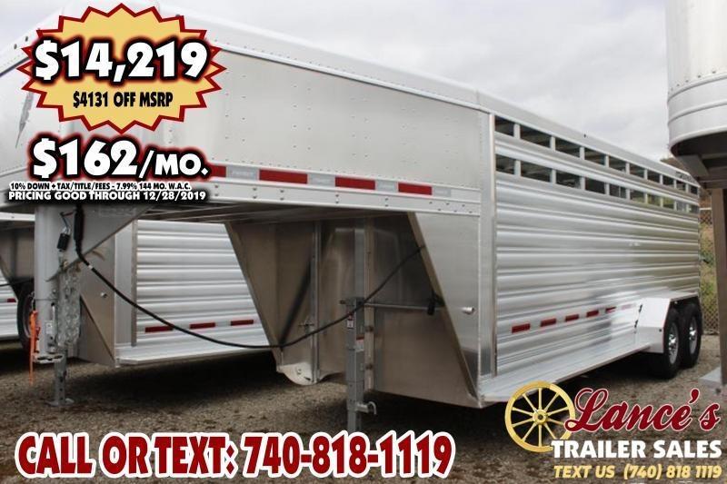 2020 Featherlite 20Ft. Livestock Trailer