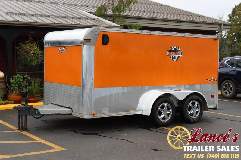 2004 12'x7' Timberwolf Cargo Trailer