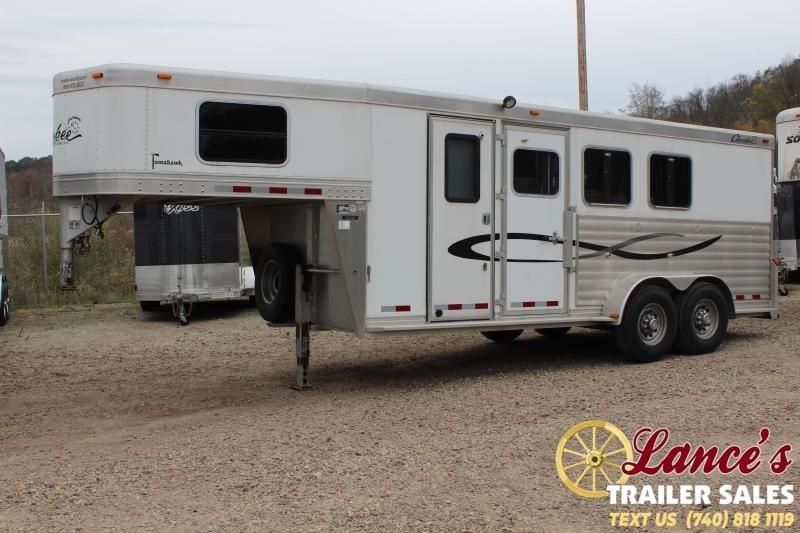 2005 Cherokee 3HSL-GN Horse Trailer