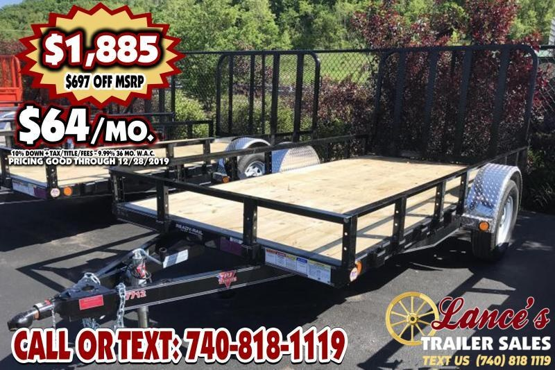 "2020 PJ 72"" x 12Ft. UTILITY TRAILER"
