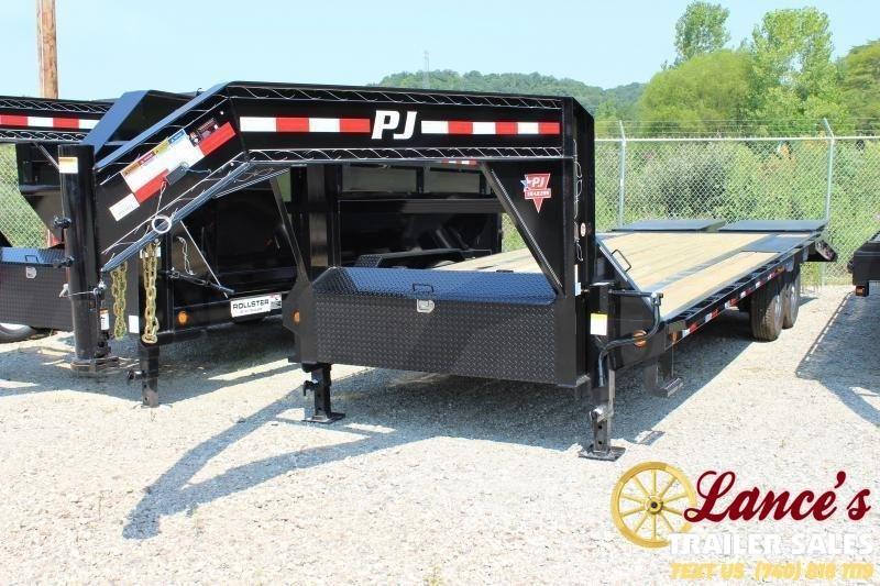 2020 PJ 20+5 Equipment Trailer GOOSENECK