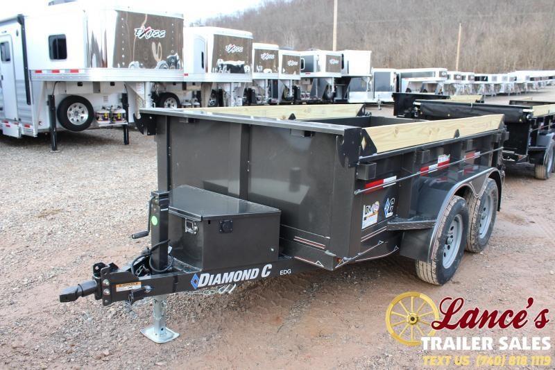 """2020 Diamond C 60""""x10' Dump Trailer"""