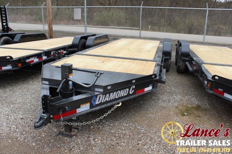 """2020 Diamond C Trailers 82""""x20' Tilt Equipment Trailer"""