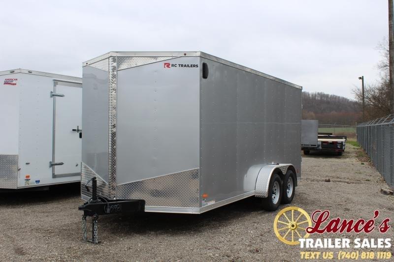 2020 RC Trailers 7'x16' Enclosed Cargo Trailer