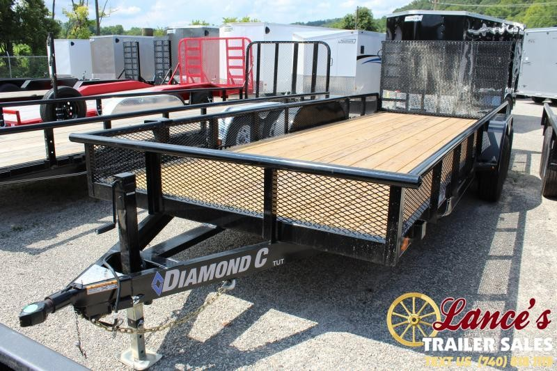2019 Diamond C Trailers TUT252 Equipment Trailer