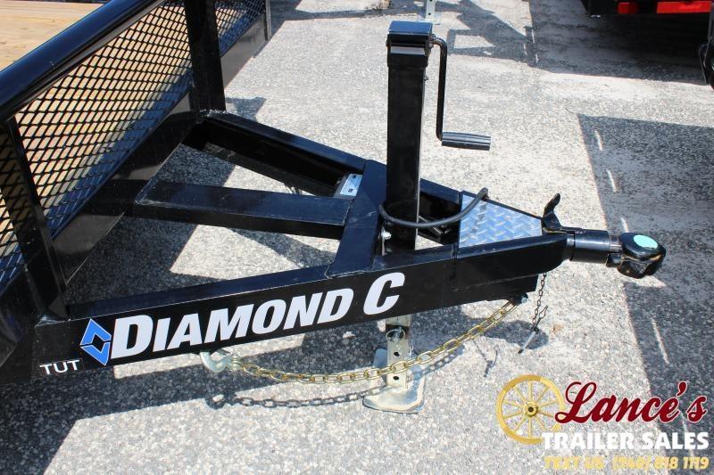 2019 Diamond C Trailers TUT252 Equipment Trailer
