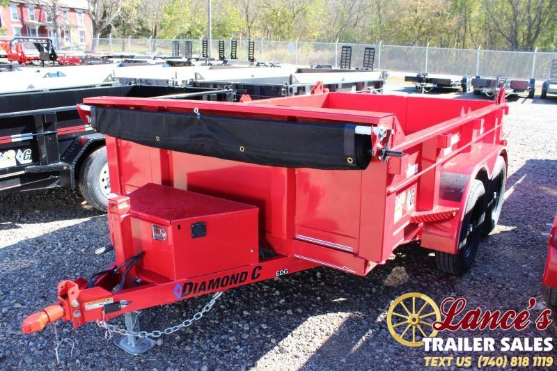 2020 Diamond C 10 Ft. Deluxe Dump Trailer
