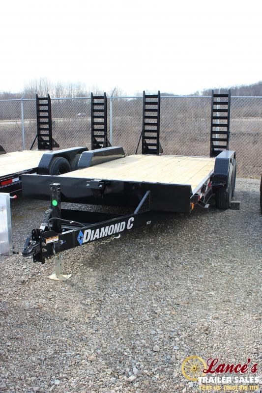 "2020 Diamond C Trailers 82""x16' Equipment Trailer"