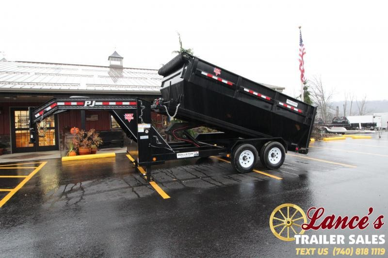 2020 PJ 14 Ft. Dump Trailer