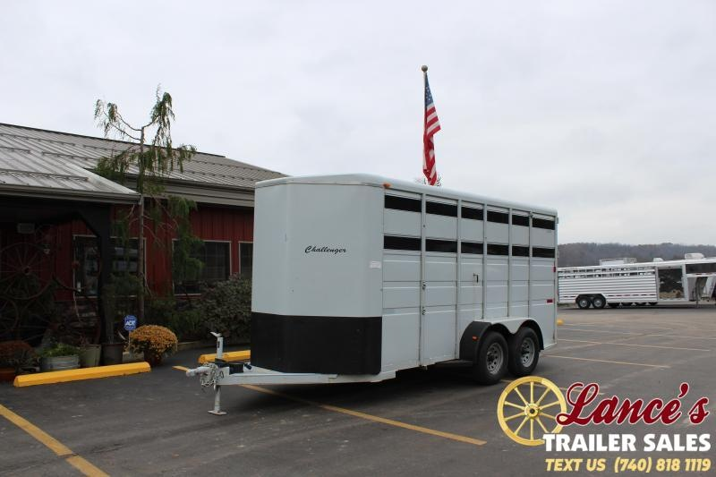 2011 Titan Trailers 16' STK Livestock Trailer