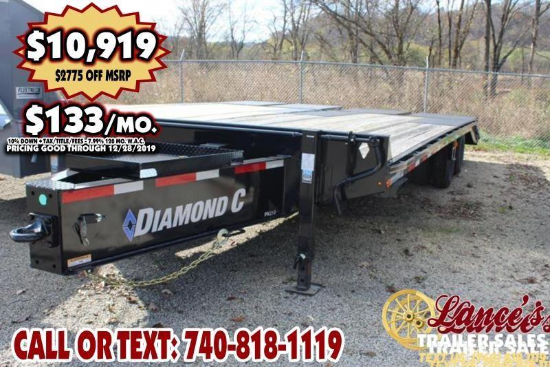 "2019 Diamond C 102"" x 25Ft. Equipment Trailer"