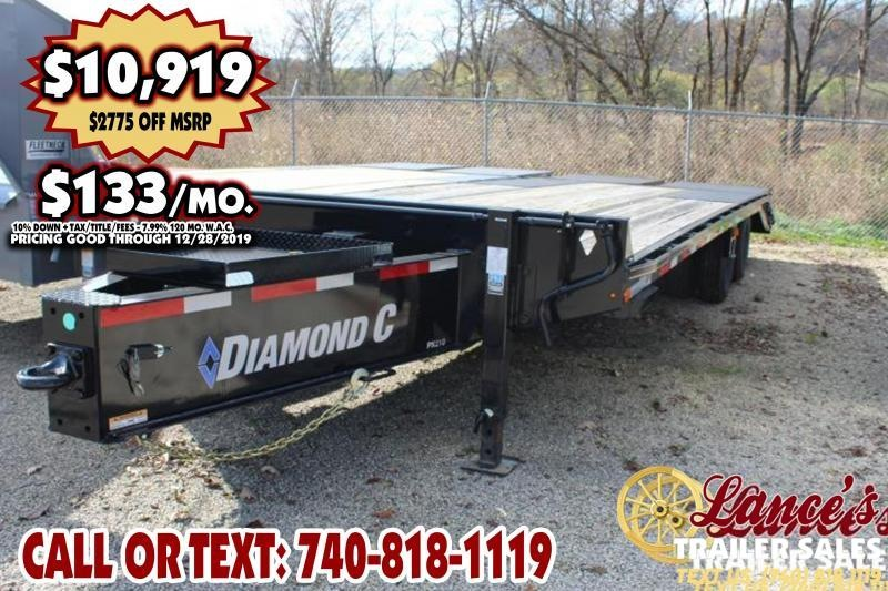 "2019 Diamond C 102"" x 25Ft. Equipment Trailer"