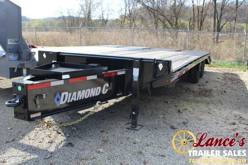 2019 Diamond C Trailers PX210L25X102M Equipment Trailer