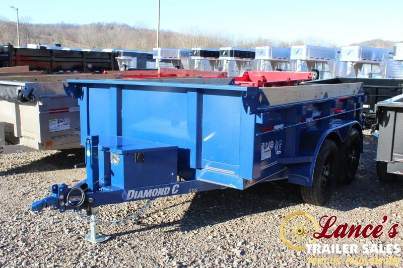"2020 Diamond C 77"" x10Ft. Dump Trailer"