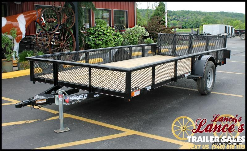 "2020 Diamond C 77""x14' Utility Trailer"