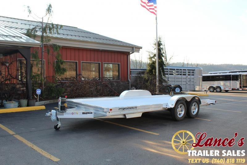 "2020 Featherlite 102""x17'6"" Open Car Hauler"