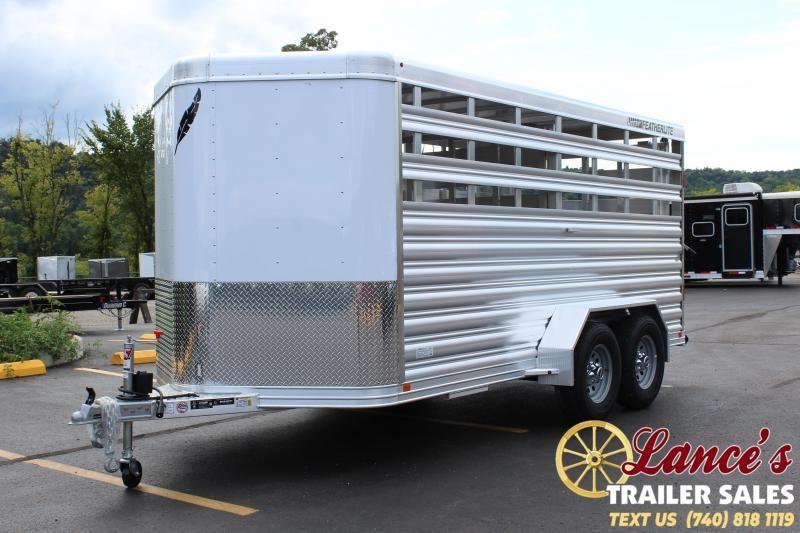 2020 Featherlite 16' Livestock Trailer