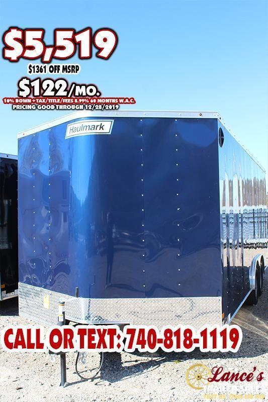 "2020 Haulmark 8.5'x20'x6'6"" TANDEM  Enclosed Cargo Trailer"