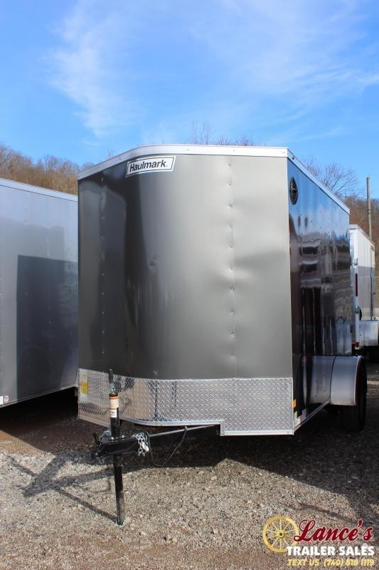 2020 Haulmark 6'x12' Deluxe Enclosed Cargo Trailer