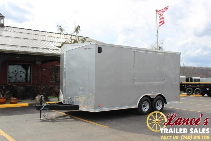"""2020 RC Trailers 8'6""""x16' Concessions Cargo Trailer"""