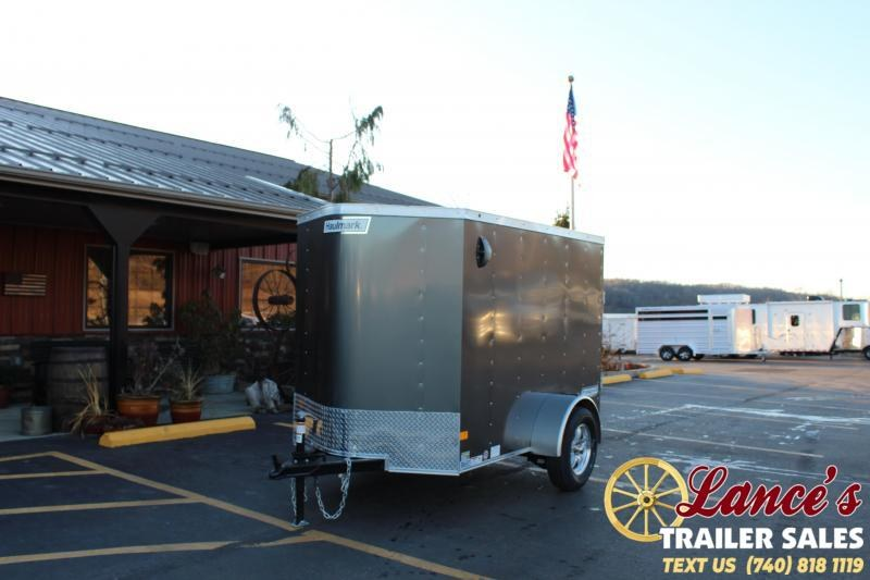 2020 Haulmark 5Ft. x 8Ft. Enclosed Cargo Trailer