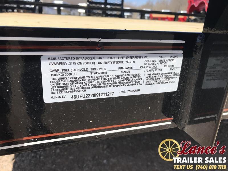 "2019 Diamond C Trailers MDT 98"" x 22' Equipment Trailer"