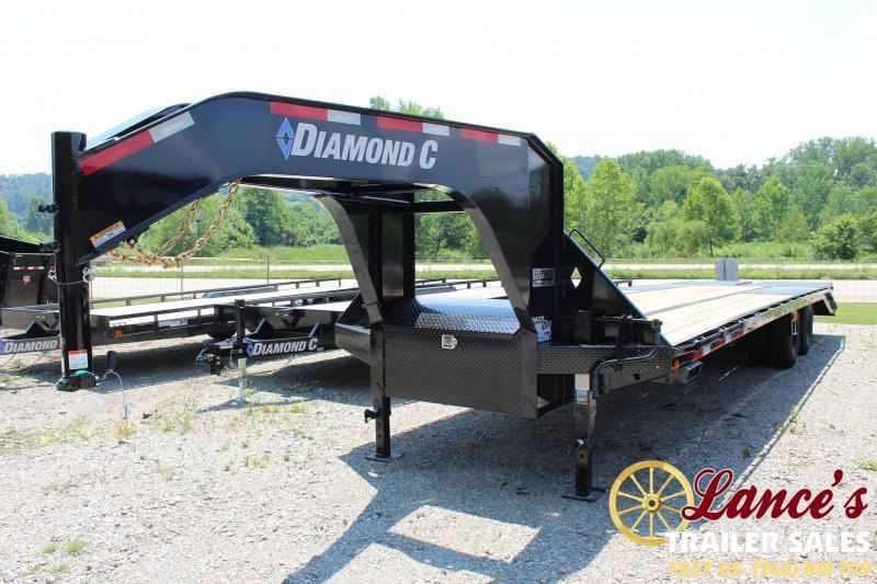 "2019 Diamond C Trailers 30'x102"" Equipment Trailer"