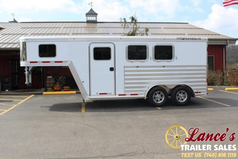 2020 Featherlite 2 Horse SLANt Load Trailer