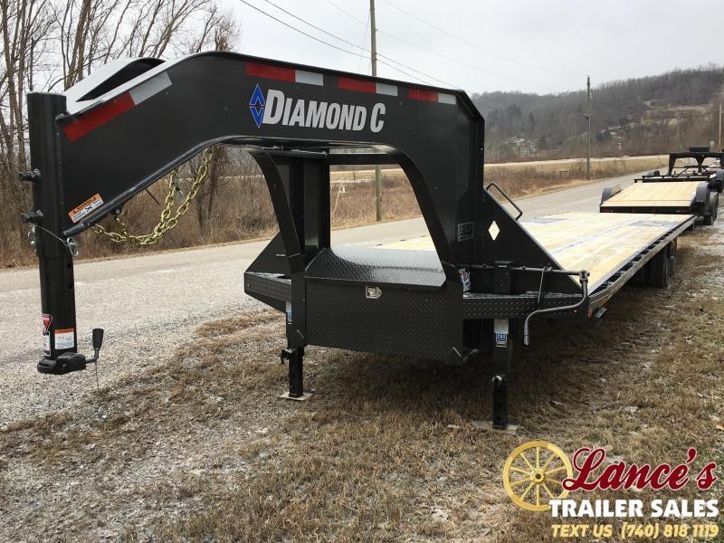 "2019 Diamond C 102"" x 40Ft. Equipment Trailer"