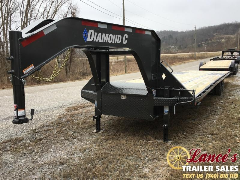 "2019 Diamond C 102"" x 40Ft. Equipment Trailer"