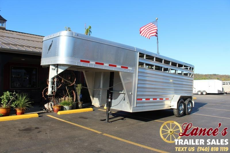 2017 Featherlite Livestock Trailer