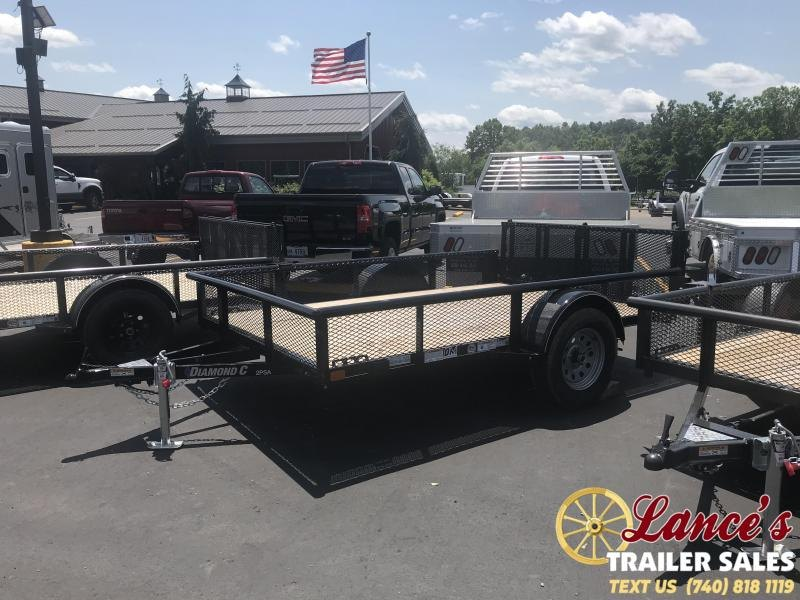 "77"" X 10' Diamond C Utility Trailer"