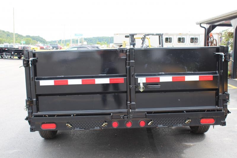 2019 PJ 7'x14' 14K Heavy Duty Dump Trailer